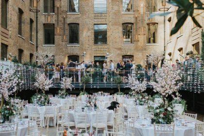 Devonshire Terrace, Wedding Venue, Western Courtyard