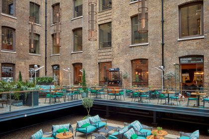 Devonshire Terrace, Corporate Parties, Western Courtyard