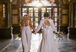 Kimpton Fitzroy London Wedding Venue Entrance Hallway