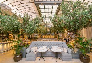 Kimpton Fitzroy London Social Events Venue Palm Court Lounge
