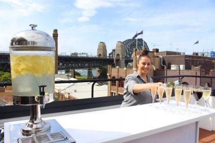 Rydges Sydney Harbour Birthday Party, The Bar