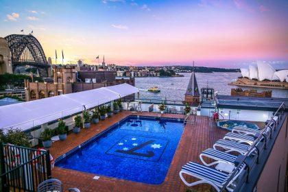 Rydges Sydney Harbour Wedding Venue, The Pool at Rydges Sydney Harbour