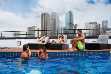 Rydges Sydney Harbour Social Parties, The Pool