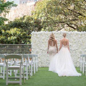 Sydney Harbour Marriott Wedding, Outdoor Terrace