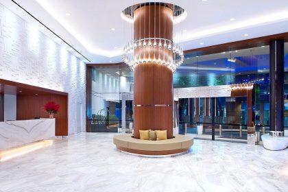 Sydney Harbour Marriott Corporate Parties, Lobby