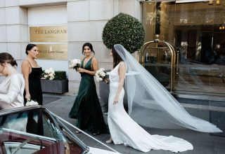 The Langham Sydney Wedding Venue, Entrance