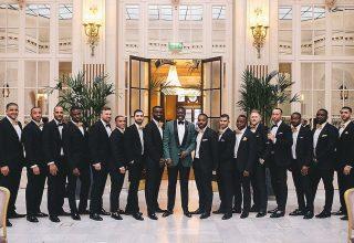 The Waldorf Hilton, Palm Court, Photography by Vitae Weddings