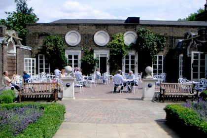The Hurlingham Club, Social Parties, Private Courtyard
