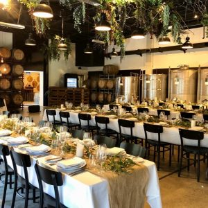 Urban Winery Sydney Wedding Venue, Main Room