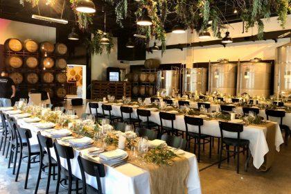 Urban Winery Sydney Wedding Venue, Main Room