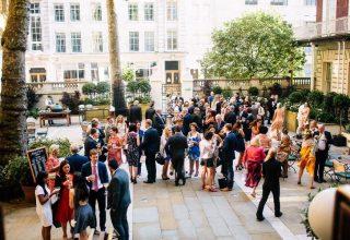 The Langham Summer Party, Courtyard Garden