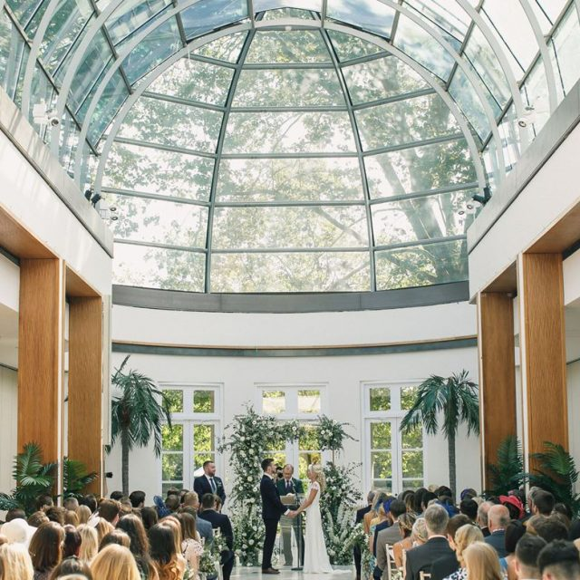 The Hurlingham Club Wedding Venue, Palm Court, Photography by Tom & Lizzie Redman