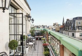 The Langham London Social Parties, Roof Top Terrace