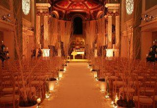 One Marylebone Wedding Venue, Soane Hall at One Marylebone