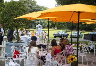 The Hurlingham Club Social Events, Private outside courtyard