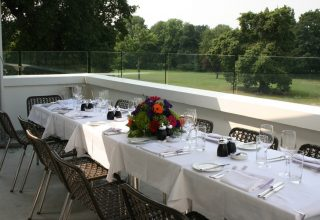 Belair House Corporate Dinner, Terrace
