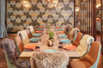 Devonshire Terrace Private Dining Room