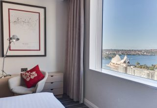 Sydney Harbour Marriott Hotel at Circular Quay Opera House Views from Suite
