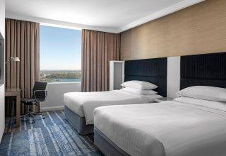 Sydney Harbour Marriott Hotel at Circular Quay Twin Room