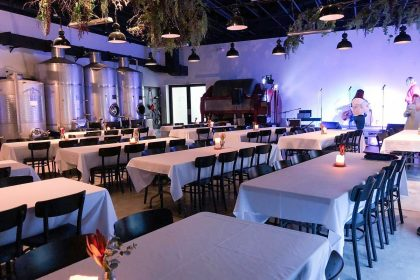 Urban Winery Sydney Corporate Event, Main Room