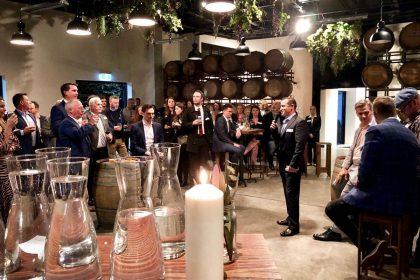 Urban Winery Sydney Corporate Gathering, Main Room