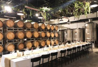 Urban Winery Sydney Corporate Parties, Main Cellar