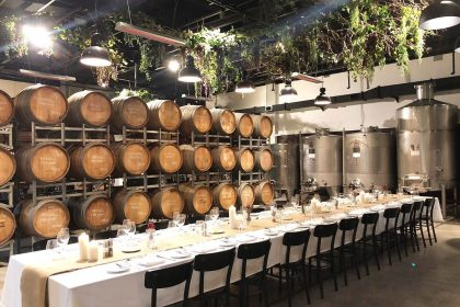 Urban Winery Sydney Corporate Parties, Main Cellar