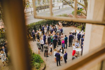 One Marylebone Summer Party, Private Courtyard