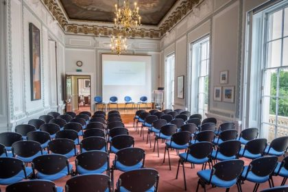 10-11 Carlton House Terrace, Lecture Room, Photo by Greg Allen Photography