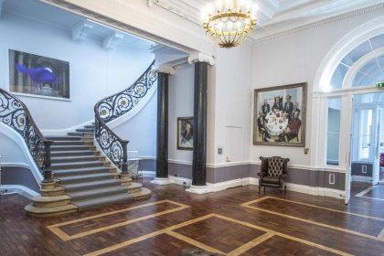 10-11 Carlton House Terrace, No.11 Reception, Photo by Greg Allen Photography