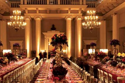 Banqueting House Corporate Dinner, The Main Hall