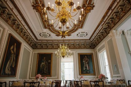 Carlton House Terrace Private Dining, The Music Room, Photograpy by Voyteck Photography