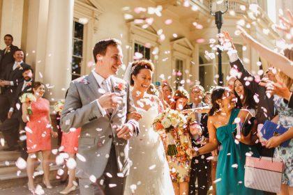 Carlton House Terrace Wedding Venue, Outside venue, Photography by ARJ