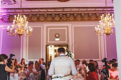 Carlton House Terrace Wedding Venue, Wolfson Room, Photography by ARJ