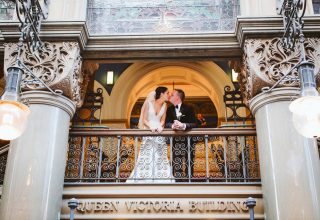 Couple-Photography-at-The-Tea-Room-QVB-Sydney-wedding-venue
