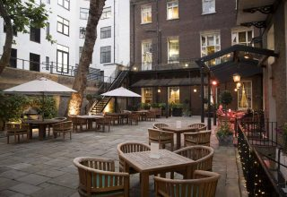 In & Out Networking Event, Private Courtyard