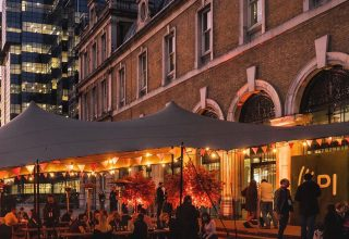 Old Billingsgate Private Dining, Outdoor Terrace