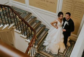 RSA House Wedding Venue, Staircase, Ginger Snaps Photography
