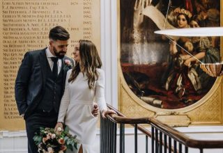 RSA House Wedding Venue, Staircase, Photography by Rachel Takes Pictures