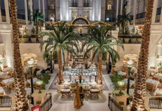 The Landmark Hotel Wedding Venue, Winter Garden