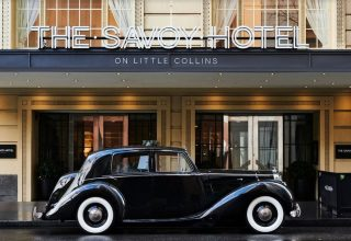 The Savoy Hotel Melbourne Private Function, Entrance to venue