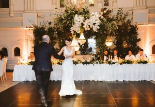 The Tea Room QVB Ballroom Wedding Father Daughter Dance