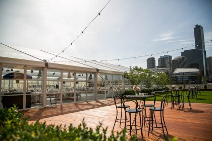 Crown Melbourne Corporate Event, Outdoor Terrace
