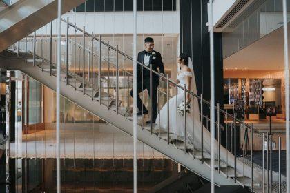 Crown Melbourne Wedding Venue, Staircase