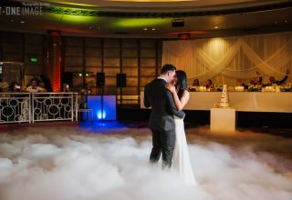 First dance with smoke on dancefloor, photo by T One Image