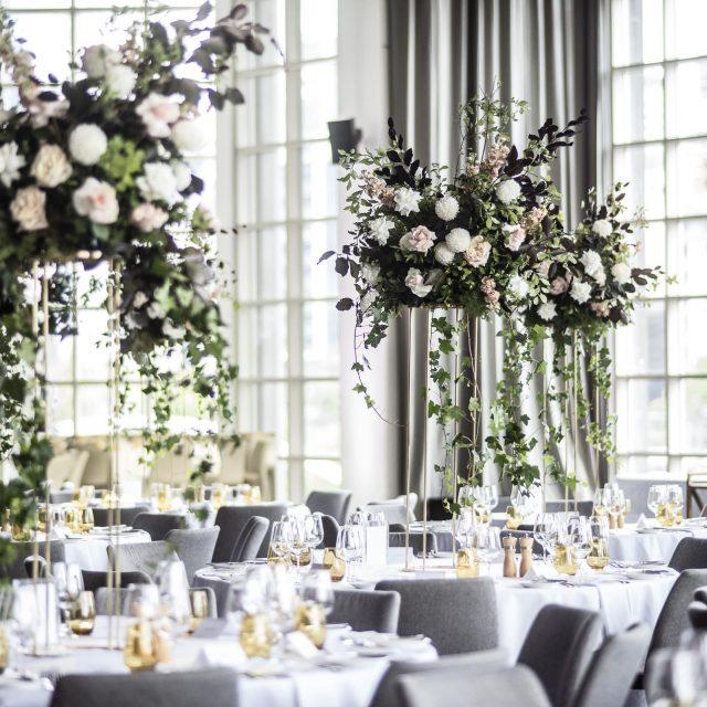 Wedding set up at Metropolis Events Melbourne