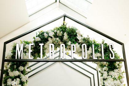 Metropolis Events, Luxury Wedding and Events Venue Melbourne, Signage