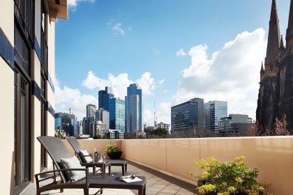 Park Hyatt Melbourne Room views, Terrace Suite