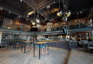 St Bart's Brewery Networking Event, Whole Venue