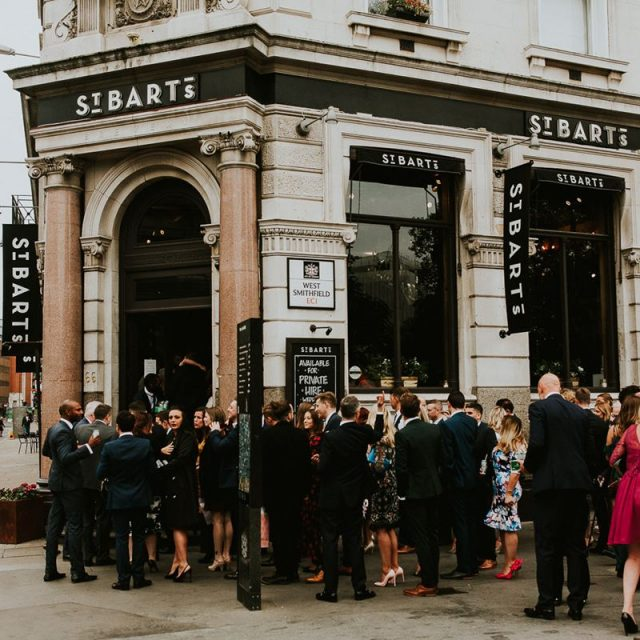 St Bart's Brewery Wedding Venue, Outside, Photography by Jonny MP